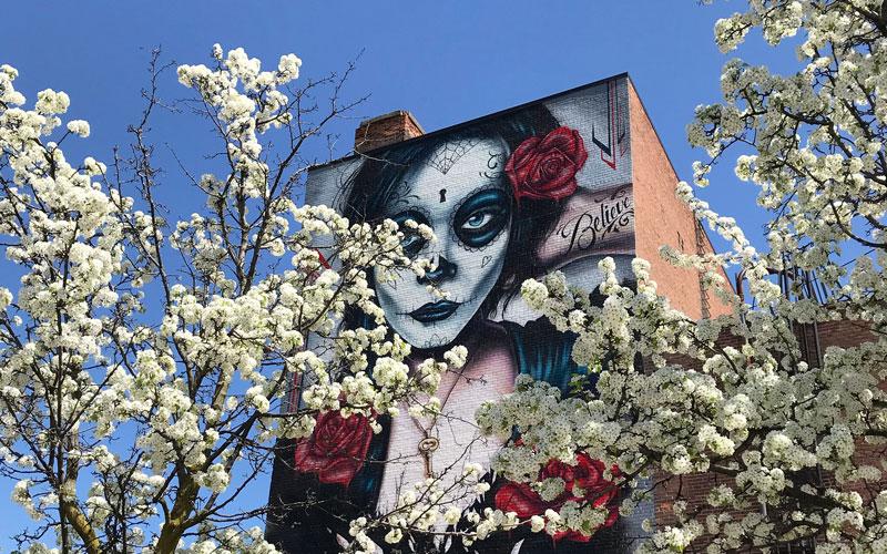 street art downtown mount clemens